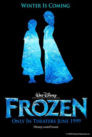 Walt Disney s Frozen 1999 Poster 1