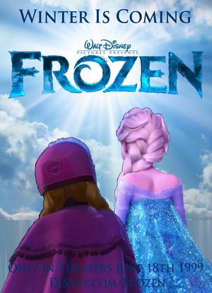 Walt Disney s La Reine des Neiges 1999 Poster 2