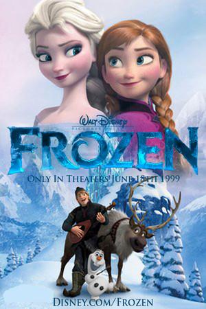 Walt Disney s La Reine des Neiges 1999 Poster 3