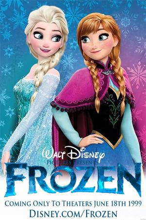 Walt disney s Frozen 1999 Poster 4