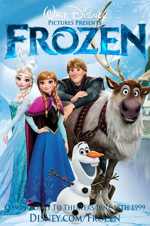 Walt Disney s La Reine des Neiges 1999 Poster 5