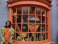 Weasleys' Wizard Wheezes' window display - harry-potter photo