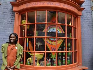 Weasleys' Wizard Wheezes' window display