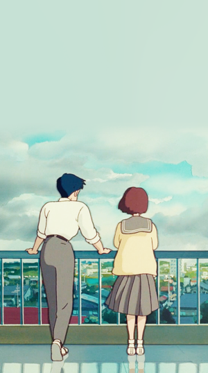 Whisper of the Heart Phone Backgrounds