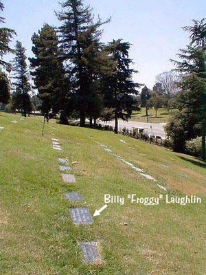 "William Robert ""Billy"" Laughlin grave"