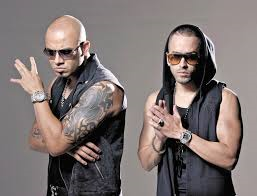Wisin y Yandel wallpaper probably containing sunglasses called Wisin y Yandel