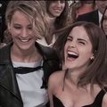 With Emma2 - jennifer-lawrence photo
