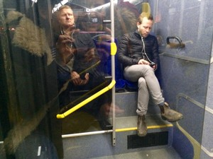 Wtf are chim giẻ cùi, jay and mitchell doing on my bus, in sweden?!