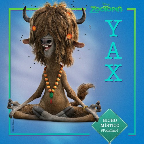 Disney's Zootopia Hintergrund called Yax