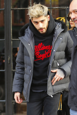 Zayn leaving the Bowery Hotel in NYC