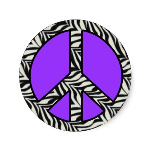 Peace Loveand Happiness Images Zebra Stripe Peace Sign Wallpaper