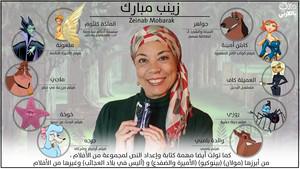Zeinab Mobarak زينب مبارك ديزني بالعربي