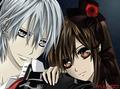 Zero And Yuuki - vampire-knight-yuki-zero photo