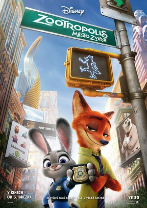 Zootopia Czech Poster