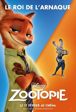 Zootopia French Posters
