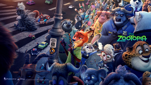 Disney's Zootopia Hintergrund with Anime called Zootopia Hintergrund