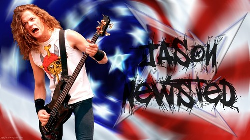 Jason Newsted 壁紙 with a guitarist and a コンサート entitled american pride jason