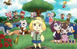 animal crossing new leaf by oot link d6hk40c