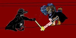 darth Raywerc vs darth inner monster