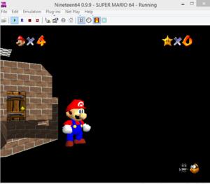 emulator glitch