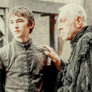 Bran Stark & Three-Eyed Raven