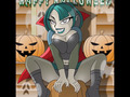 halloween from Gwen - total-drama-island fan art