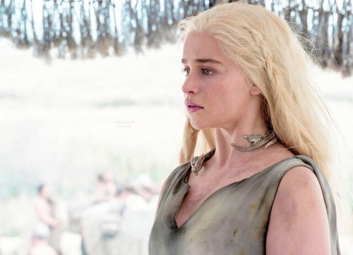 Daenerys Targaryen fond d'écran possibly with a portrait entitled Daenerys Season 6