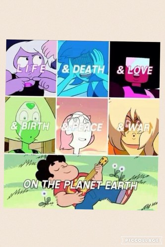 steven universe wallpaper probably with anime titled image