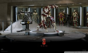 iron man 3 suit up wallpaper 800x480
