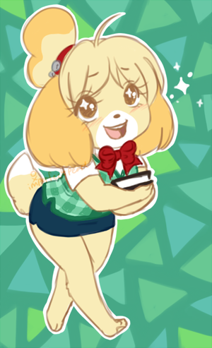 isabelle by eeveesama d6an12n