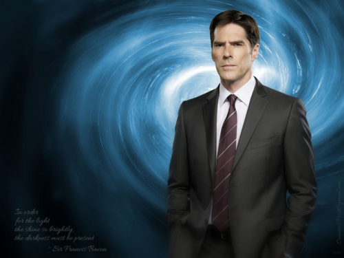 Criminal Minds wallpaper containing a business suit, a suit, and a single breasted suit titled light and darkness