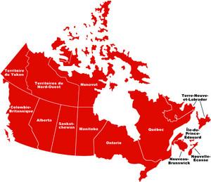 map carte canada fr