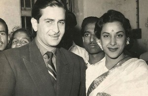 nargis dutt and raj kapoor