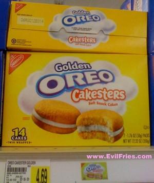 oreo cakesters golden at kroger