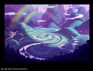 pixie hollow orignal concept art