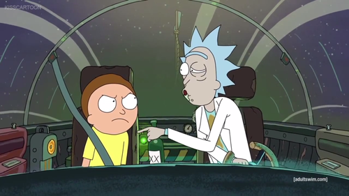 Rick and Morty 바탕화면 possibly containing a 식당 and 아니메 entitled rickandmorty1