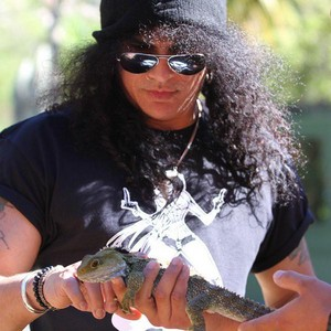 slash pics with animals <3
