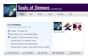 souls of demons profiel