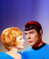 spock and christine