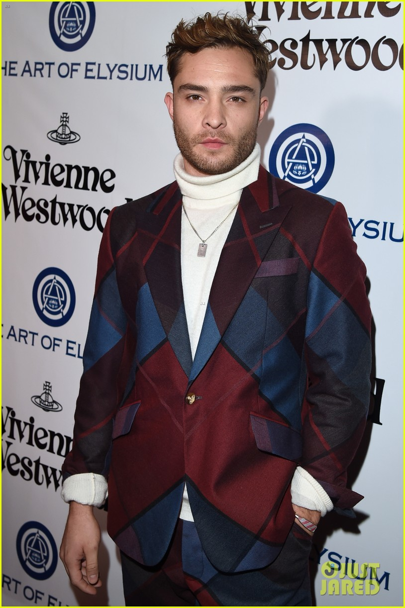 Ed Westwick attends the 2016 Art of Elysium Heaven Gala