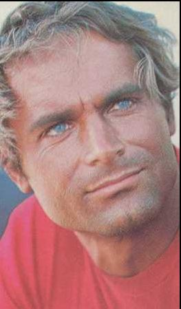 Terence ہل, لندن پیپر وال with a portrait titled terencehill