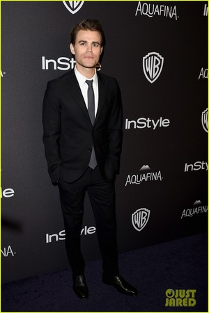 tvd cast at InStyle's Golden Globes 2016 After Party