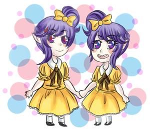 witch twins দ্বারা kousovaas d9dmv44