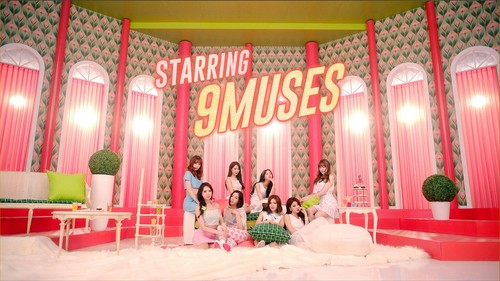 Nine Muses fondo de pantalla titled ♥ 9MUSES ♥