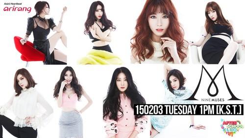 Nine Muses fondo de pantalla containing a portrait called ♥ 9MUSES ♥