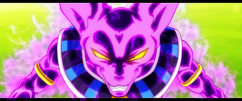 Dragon Ball Z wallpaper possibly containing Anime entitled *Bills The God of Destruction*