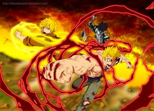 *Laxus / Yuri's : Mercury Fulminate Thunder God*