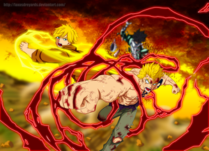 *Laxus / Yuri's : Mercury Fulminate Thunder God*