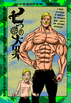 *Lion's Sin of Pride Escanor*