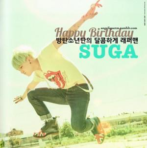 생일축하합니다 SUga!!!!!!!!♥♥